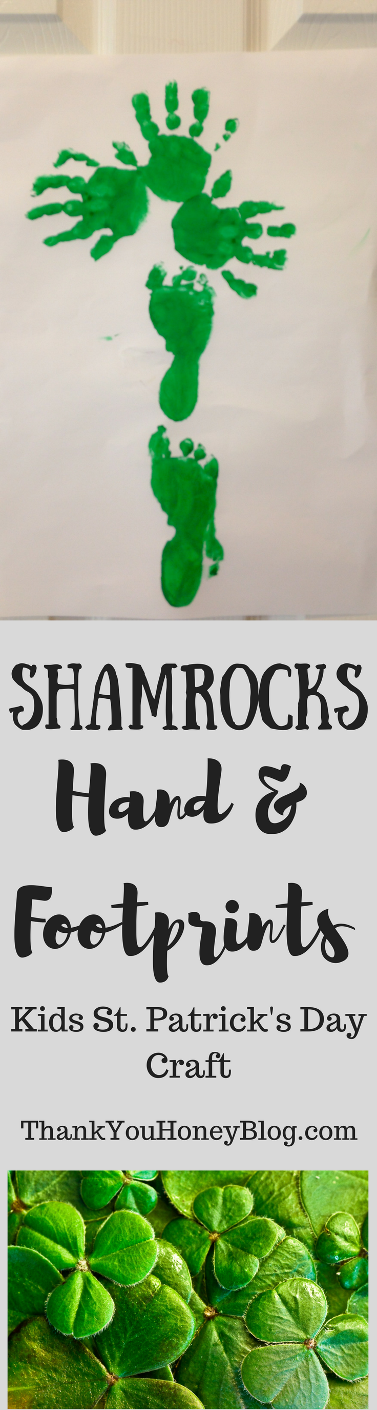 Shamrock Hand & Footprints