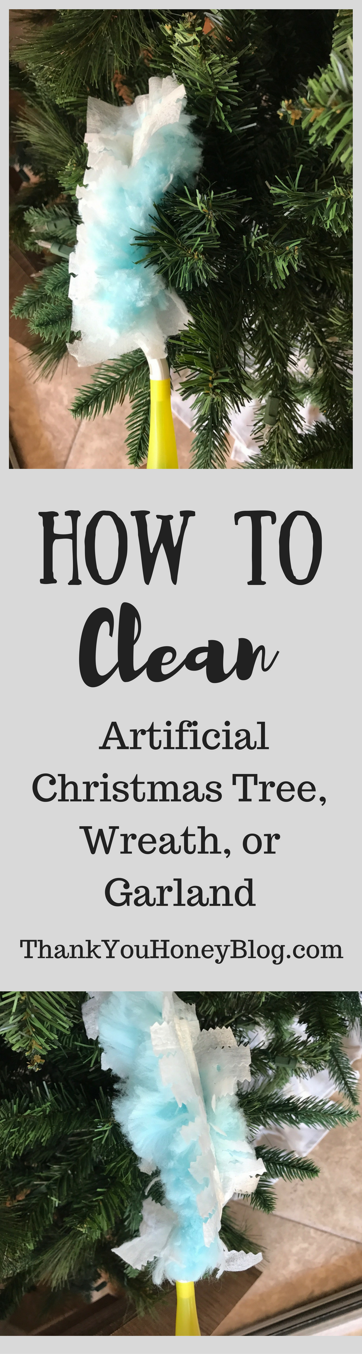 Tips for Cleaning an Artificial Christmas Tree