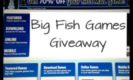 Big Fish Giveaway