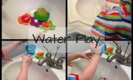 Snow Day Fun…  Water Play