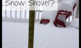 Who Needs a Snow Shovel?