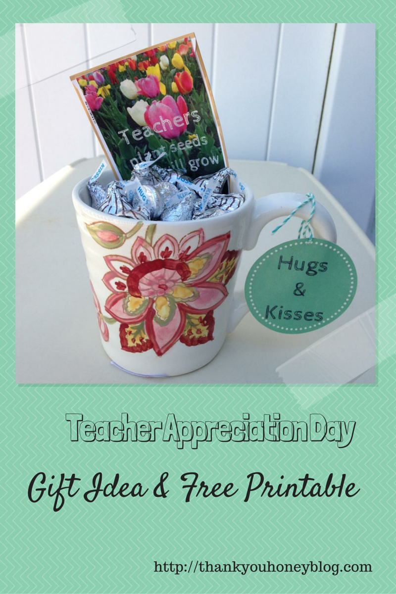 Teacher Appreciate Day, Gift Ideas, Free Printable