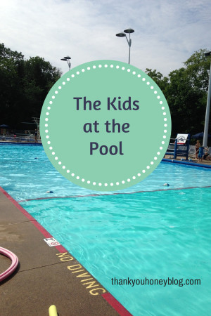 Kids at thepool