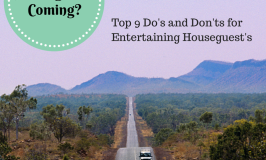 Top 9 Tips for Entertaining Houseguests