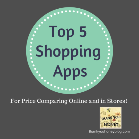 top 5 price comparing apps thank you honey. Black Bedroom Furniture Sets. Home Design Ideas