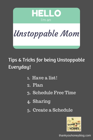 Unstoppable Mom