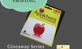 A Little Frosting Giveaway Series
