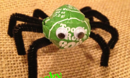Spooky Spider Pops