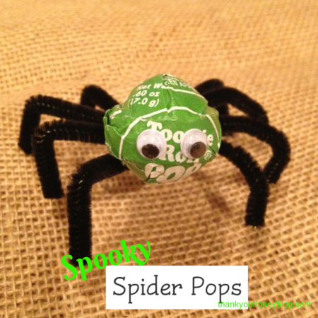 Spooky Spider Pops Tutorial