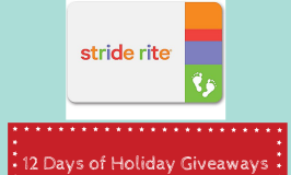 Stride Rite Gift Card Giveaway