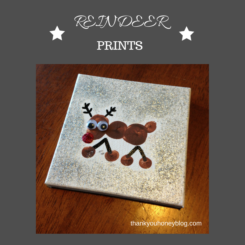 Reindeer Prints Ornament