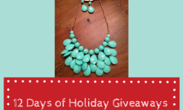 Bubble Necklace and Earring Set Giveaway