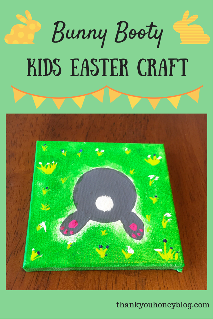 Bunny Booty Easter Craft