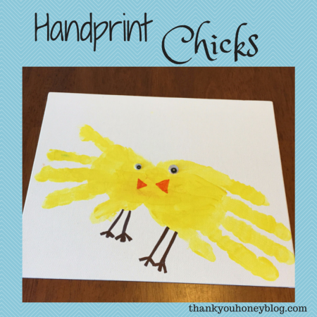Handprint Chicks SM