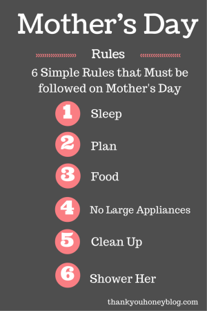 6 Simple Rules that Must be Followed on Mother's Day