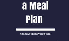 Tips for Sticking to a Meal Plan