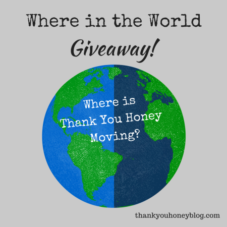 Where in the World Giveaway