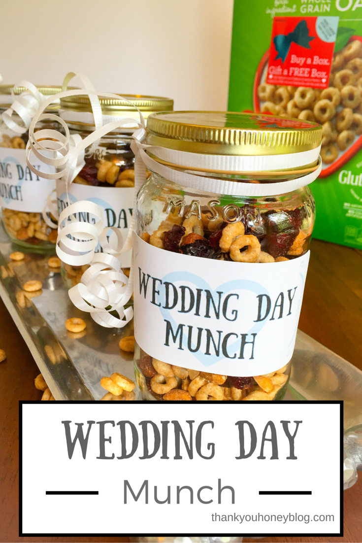 Wedding Day Munch Trail Mix