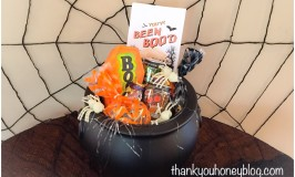 Creepy Crawly BOO`ing Cauldron