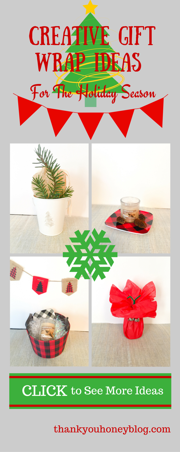 Creative Gift Wrap Ideas For the Holiday Season #LoveAmericanHome #ad