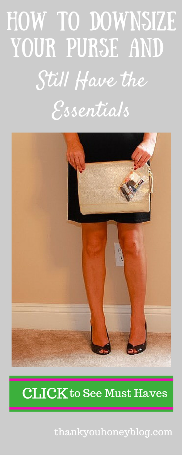 How to Downsize Your Purse,  How to Downsize Your Purse and Still Have The Essentials, Purse Essentials, Tutorial, Date Night, Clutch, Everyday Purse, Fashion, Beauty, Dress up, shoes,   #BeHealthyForEveryPartofLife #ad