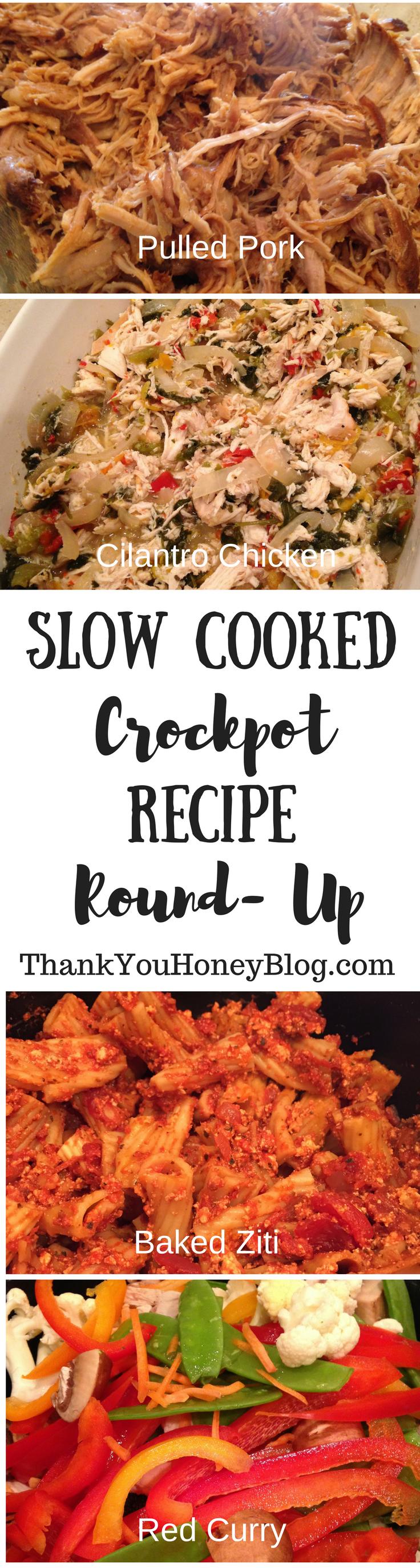 Slow Cooked Crockpot Recipe Round Up