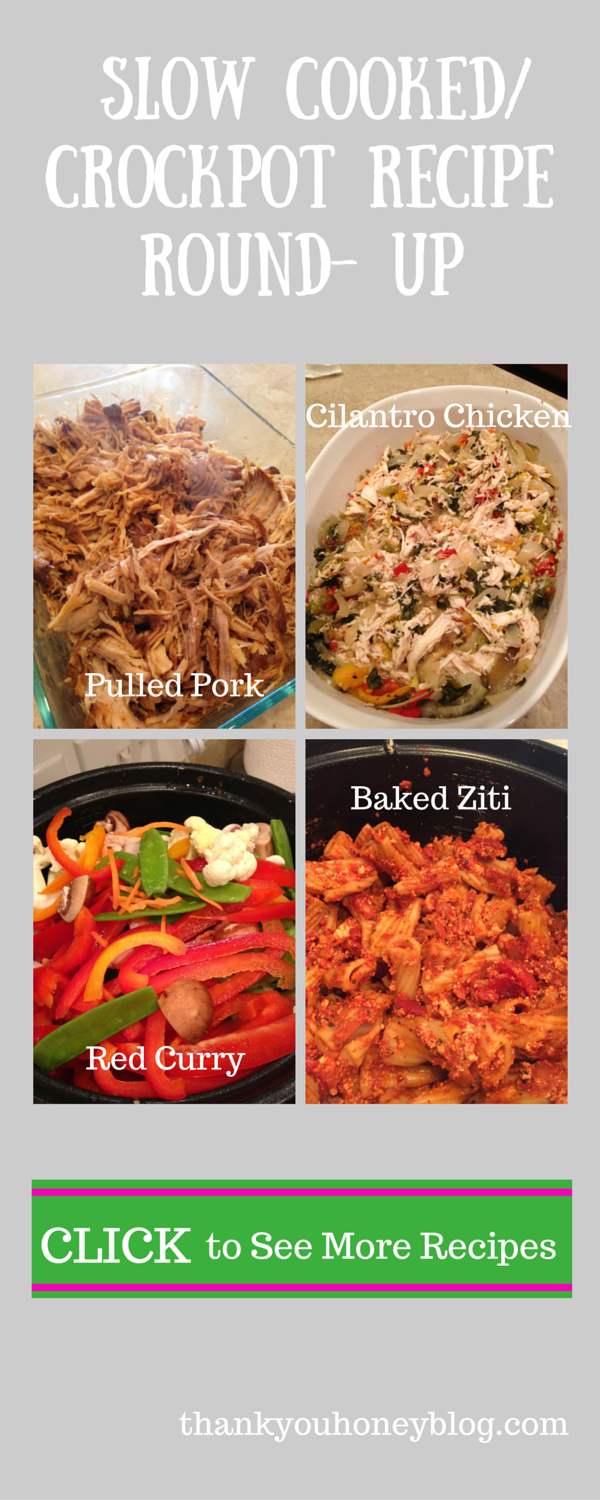 Slow- Cooked Crockpot Recipe Round- Up