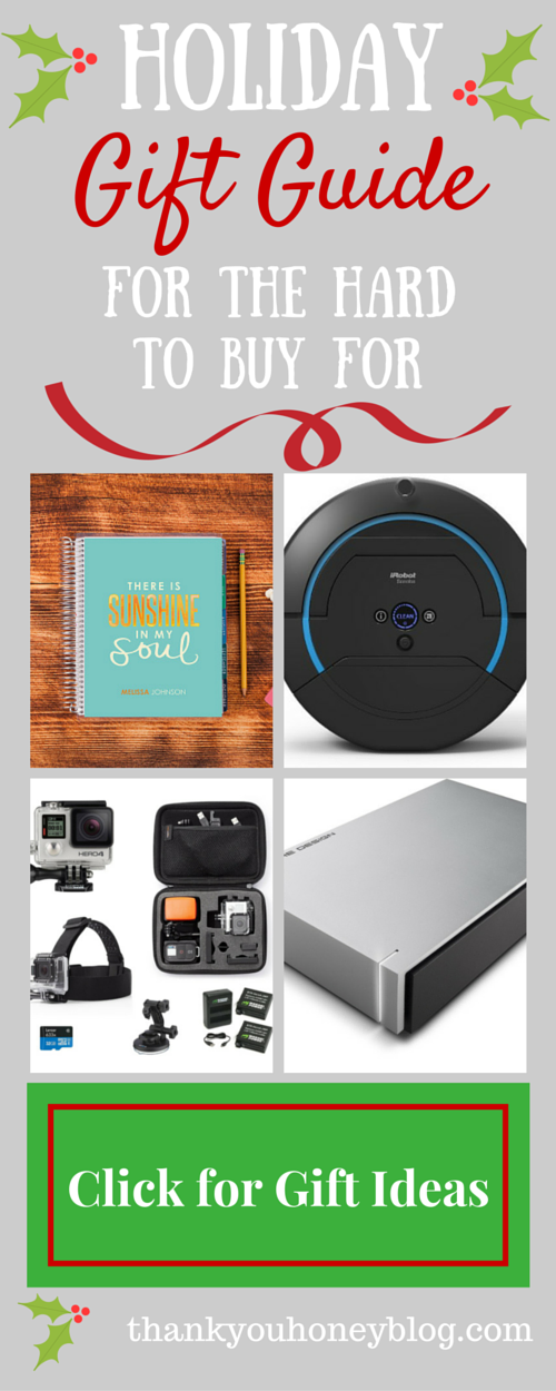 Holiday Gift Guide for the Hard to Buy For