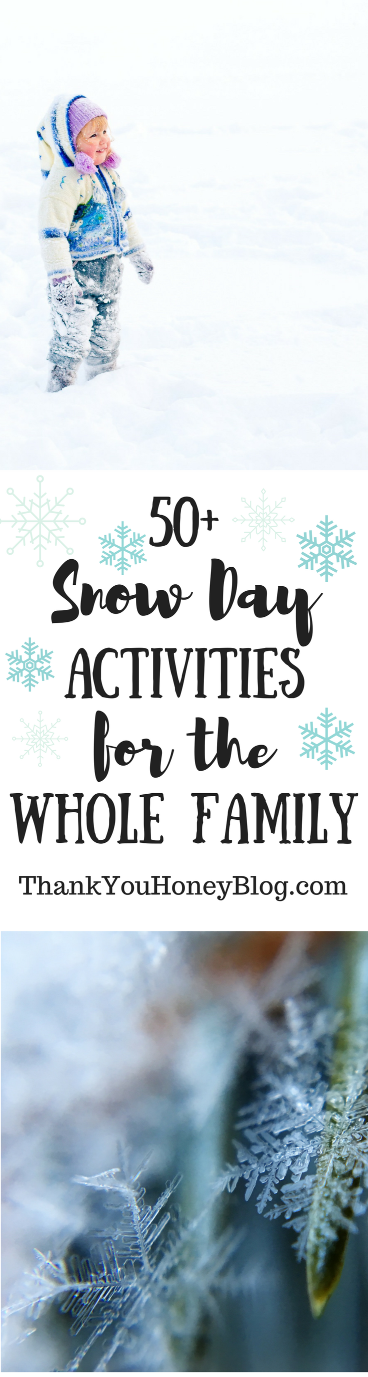 50+ Snow Day Activities for the Whole Family