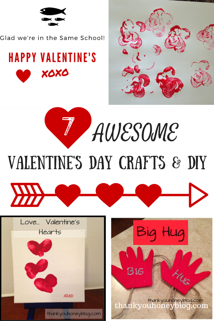 7 Awesome Valentine's Day Crafts & DIY