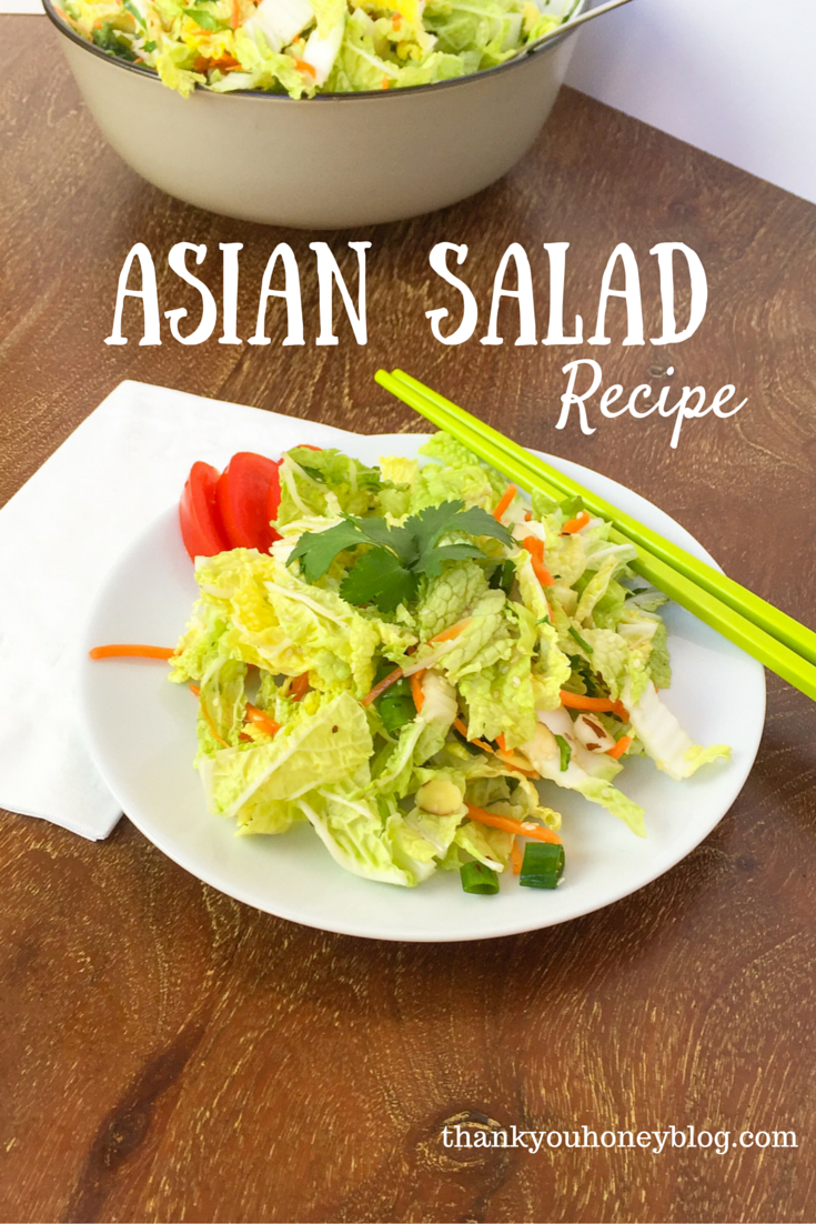 Asian Salad Recipe #SweetNewYear #ad