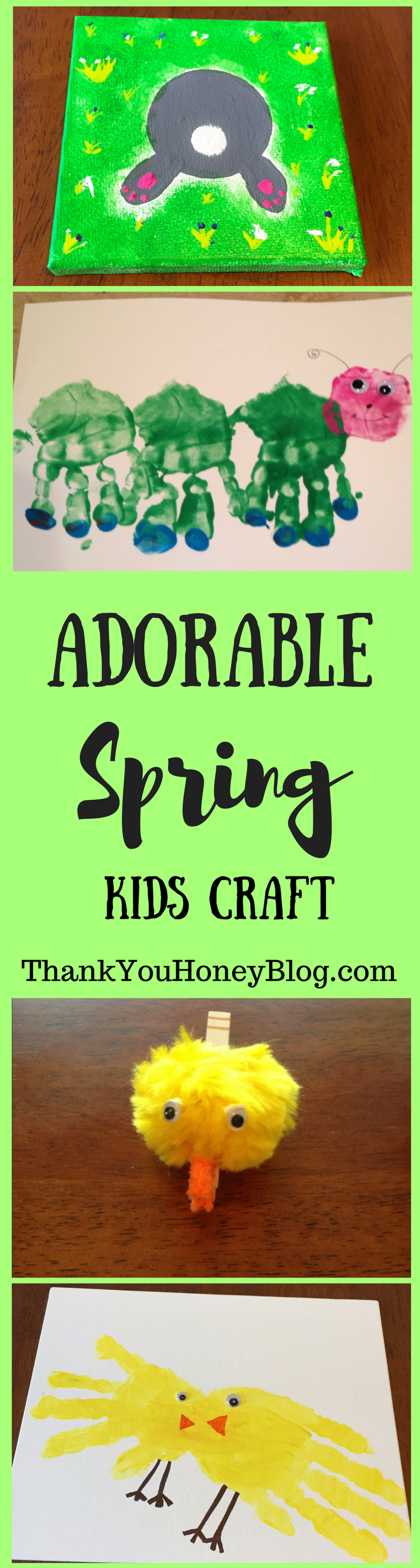 Adorable Spring Kids Craft
