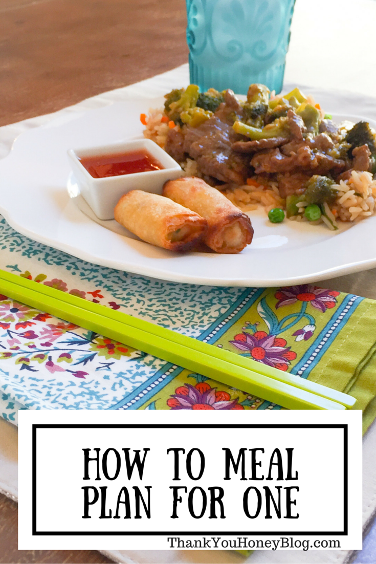 How to Meal Plan for One #FrozenReward #ad