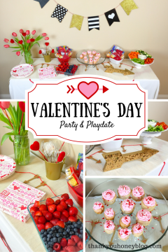 Valentine's Day Party & Playdate