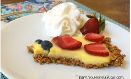Granola Crusted Fruit Tart