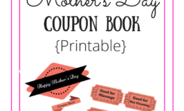 DIY Mother`s Day Coupon Book