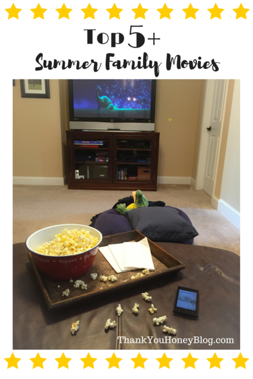 Top 5 Summer Family Movie #DataAndAMovie #ad http://thankyouhoneyblog.com