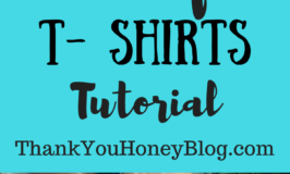 Tie Dye T- Shirts Tutorial