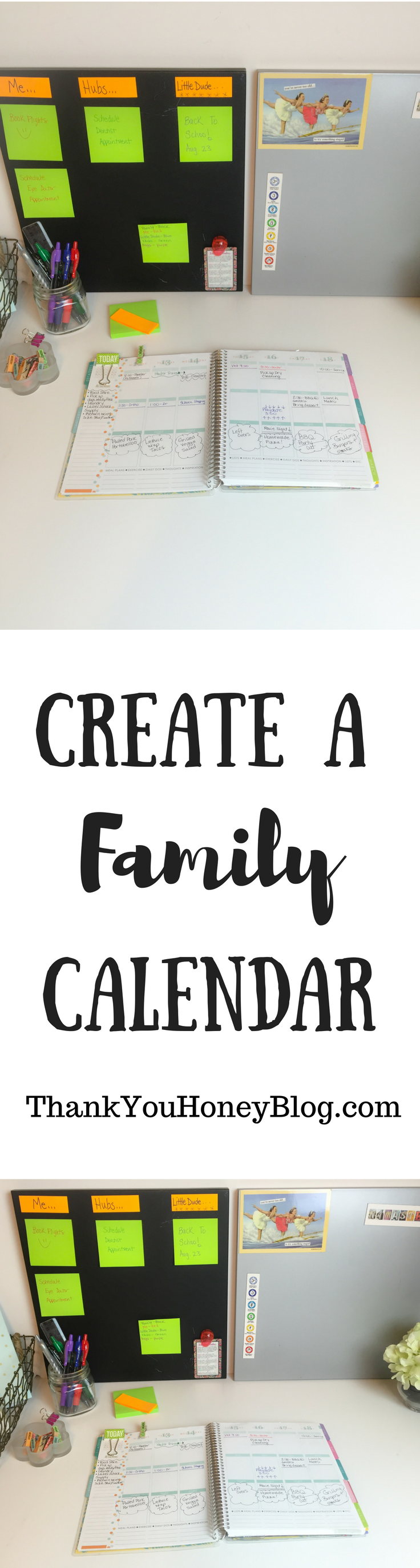 how to create a family calendar in google