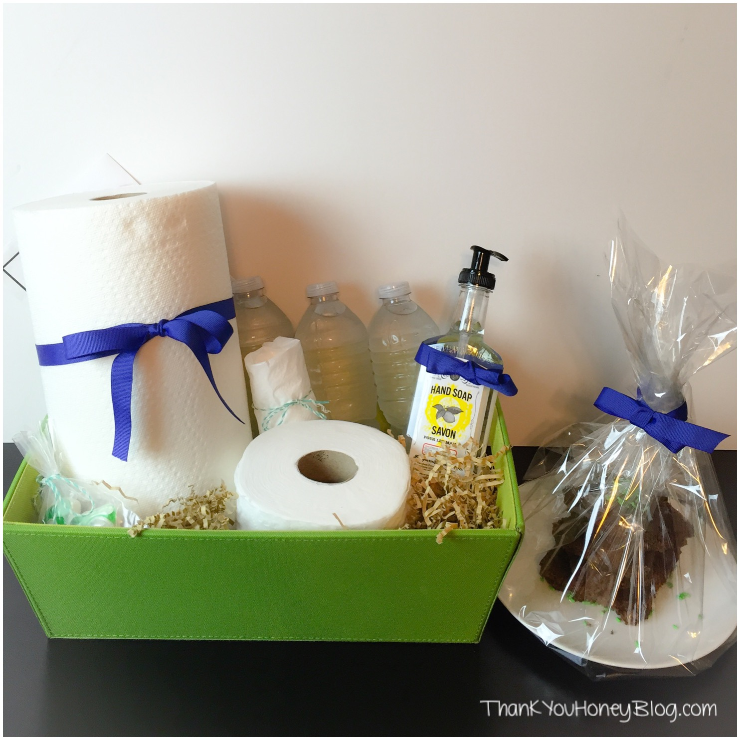 DIY Welcome Basket #FavoritesInAMix #ad