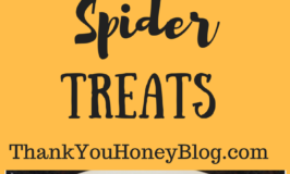 Spooky Spiders Treats