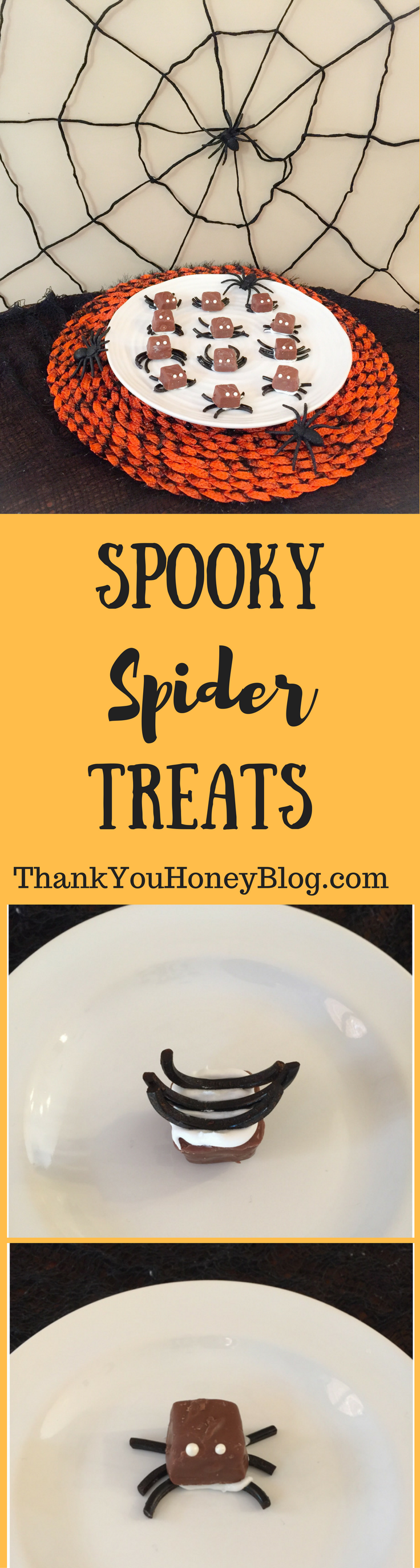 Spooky Spider Treats