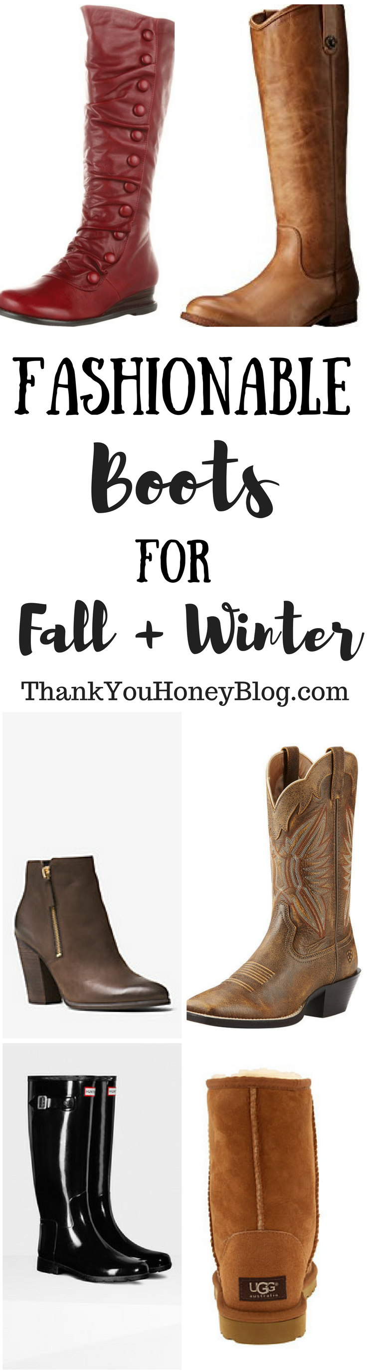Fashionable Boots for Fall and Winter