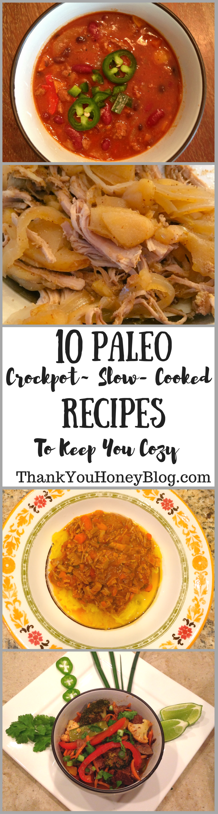 10 Paleo Crockpot~ Slow- Cooked Recipes