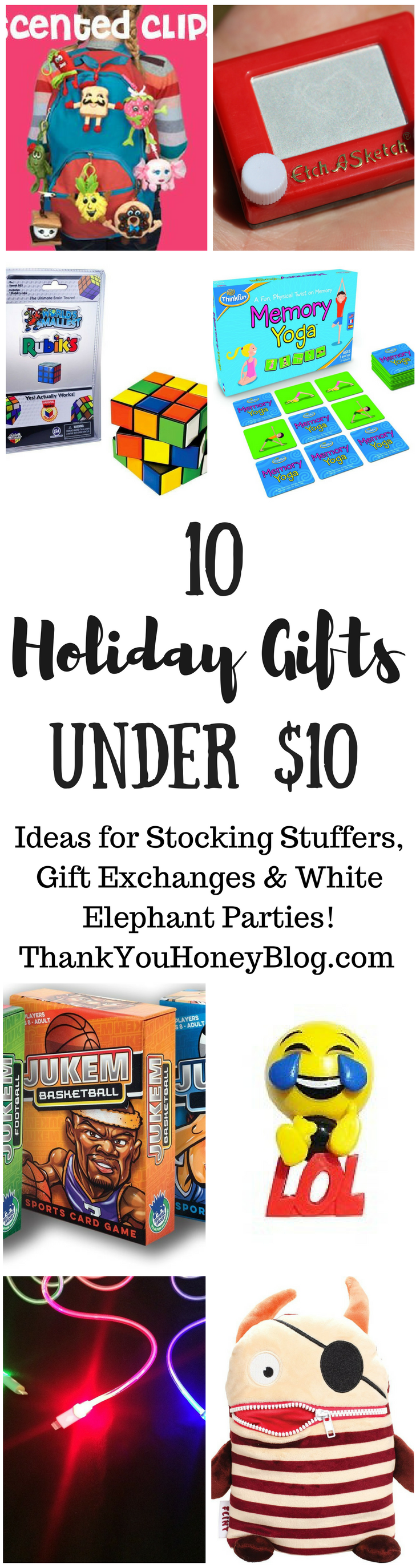 10 Holiday Gifts Under $10