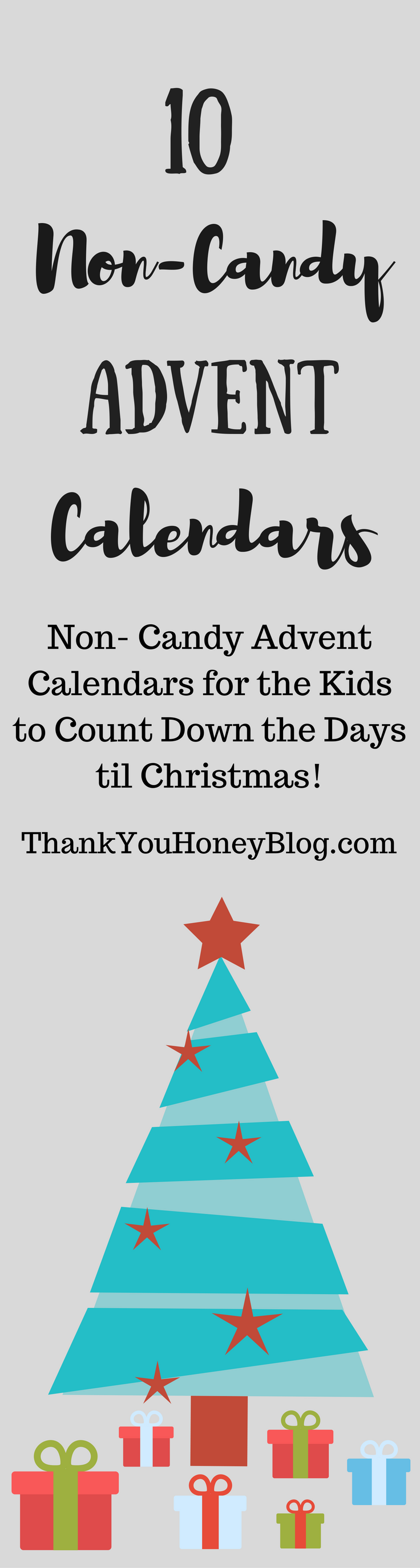 10 Awesome Non- Candy Advent Calendars