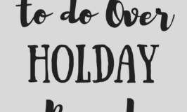 50 Family Fun Activities to do Over the Holiday Break
