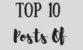 Thank You Honey`s Top 10 Post of 2016
