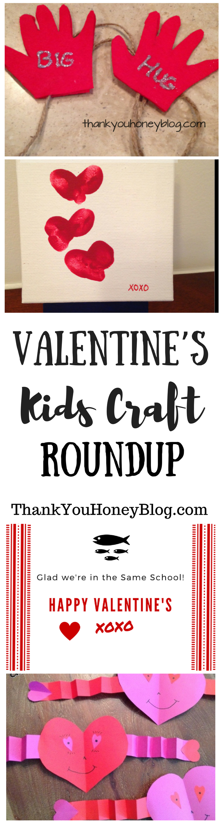 Valentine's Kids Craft Roundup