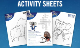 Sing Movie Activities & Printables